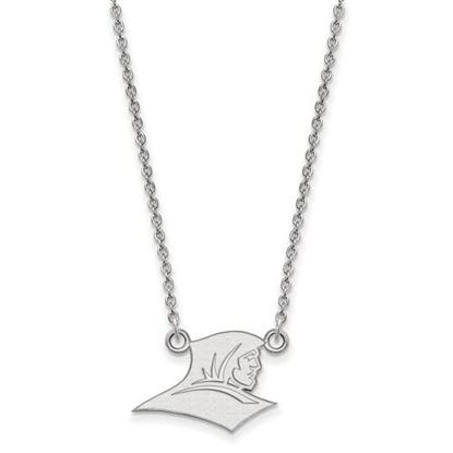 Picture Of Providence College 10k White Gold Small Pendant Necklace