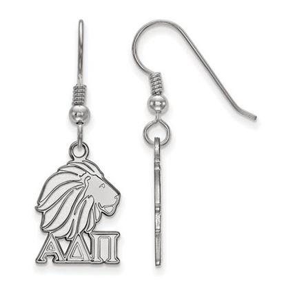 Picture of Alpha Delta Pi Sorority Sterling Silver Dangle Earrings