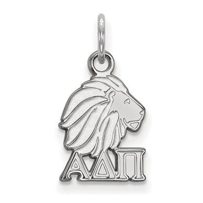 Picture of Alpha Delta Pi Sorority Sterling Silver Extra Small Pendant