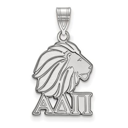 Picture of Alpha Delta Pi Sorority Sterling Silver Medium Pendant