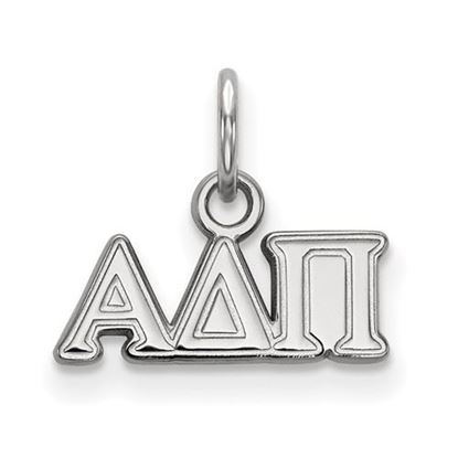 Picture of Alpha Delta Pi Sorority Sterling Silver Pendant
