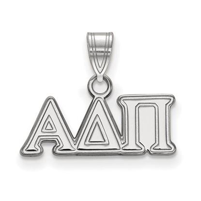 Picture of Alpha Delta Pi Sorority Sterling Silver Small Pendant