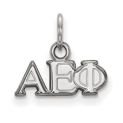 Picture of Alpha Epsilon Phi Sorority Sterling Silver XS Pendant