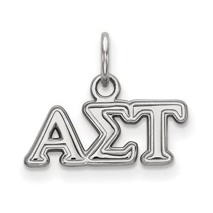 Picture of Alpha Sigma Tau Sorority Extra Small Pendant