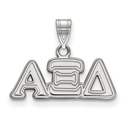 Picture of Alpha Xi Delta Sorority Sterling Silver Small Pendant