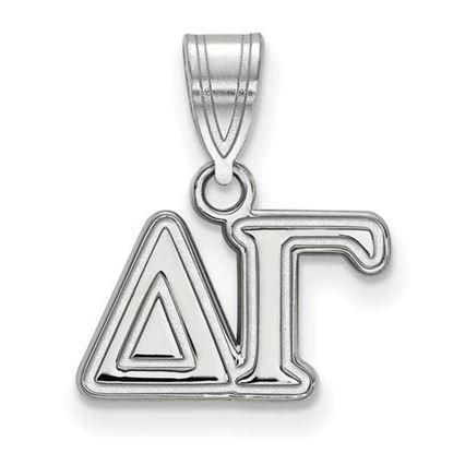 Picture of Delta Gamma Sorority Sterling Silver Medium Pendant