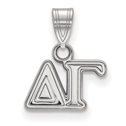 Picture of Delta Gamma Sorority Sterling Silver Small Pendant
