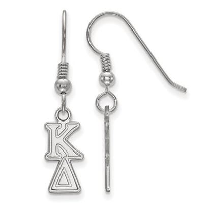 Picture of Kappa Delta Sorority Sterling Silver Dangle Earrings