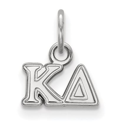 Picture of Kappa Delta Phi Sorority Sterling Silver Extra Small Pendant