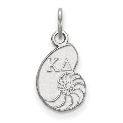 Picture of Kappa Delta Sorority Sterling Silver Extra Small Pendant