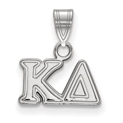 Picture of Kappa Delta Sorority Sterling Silver Small Pendant