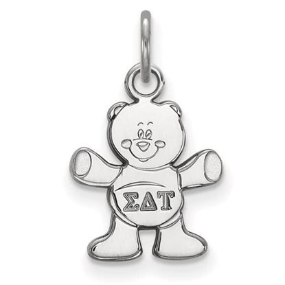 Picture of Sigma Delta Tau Sorority Sterling Silver Extra Small Pendant