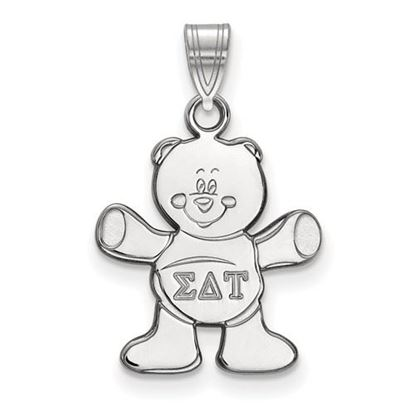 Picture of Sigma Delta Tau Sorority Sterling Silver Small Pendant