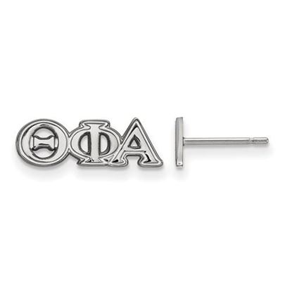Picture of Theta Phi Alpha Sorority Sterling Silver Extra Small Post Earrings
