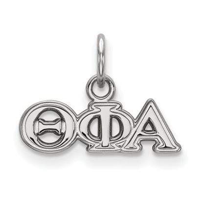 Picture of Theta Phi Alpha Sorority Sterling Silver Extra Small Pendant