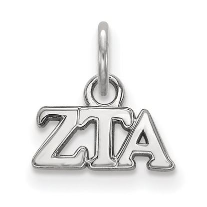 Picture of Zeta Tau Alpha Sorority Sterling Silver Extra Small Pendant