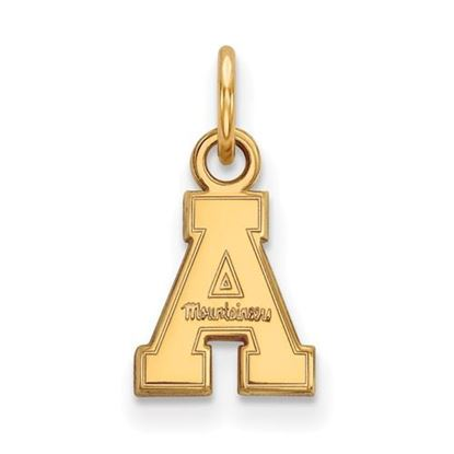 Picture of Appalachian State University Mountaineers Sterling Silver Gold Plated Extra Small Pendant