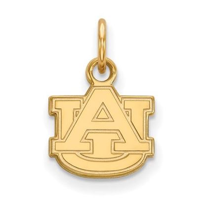 Picture of Auburn University Tigers Sterling Silver Gold Plated Extra Small Pendant