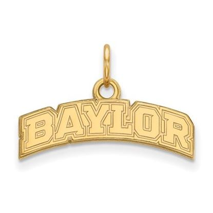 Picture of Baylor University Bears 10k Yellow Gold Extra Small Pendant