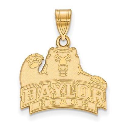Picture of Baylor University Bears 10k Yellow Gold Medium Pendant