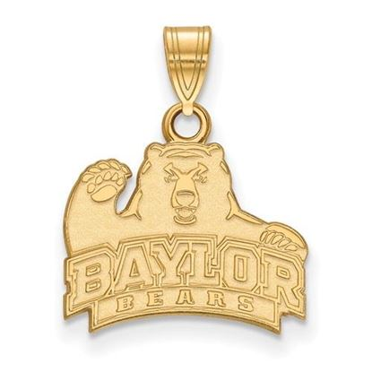 Picture of Baylor University Bears 10k Yellow Gold Small Pendant
