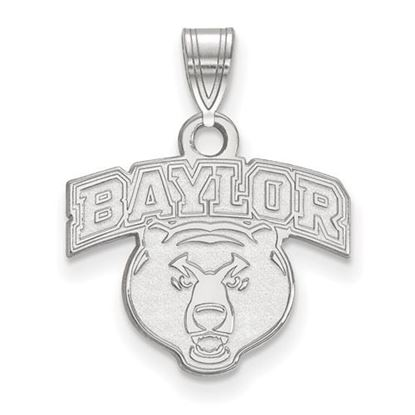 Picture of Baylor University Bears 14k White Gold Small Pendant