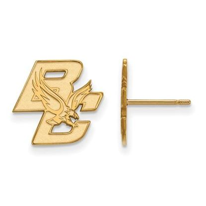 Picture of Boston College Eagles 10k Yellow Gold Small Post Earrings
