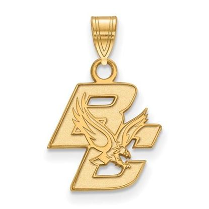Picture of Boston College Eagles Sterling Silver Gold Plated Small Pendant