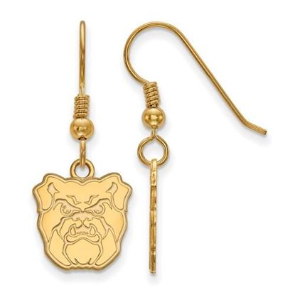 Picture of Butler University Bulldogs Sterling Silver Gold Plated Small Dangle Earrings
