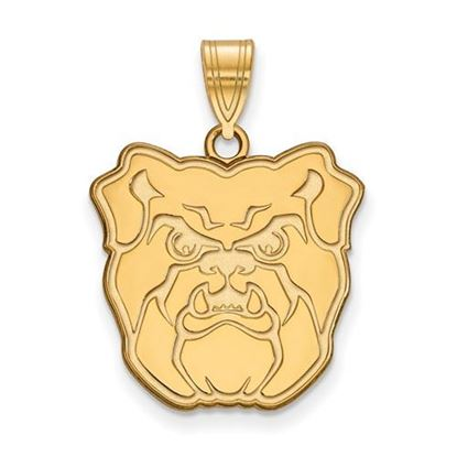 Picture of Butler University Bulldogs Sterling Silver Gold Plated Large Pendant