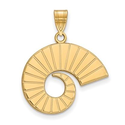 Picture of Colorado State University Rams 10k Yellow Gold Large Pendant