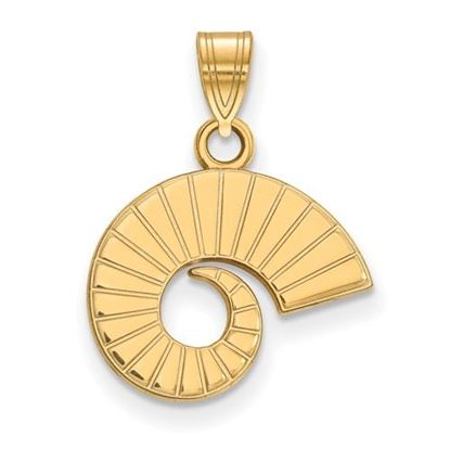 Picture of Colorado State University Rams 14k Yellow Gold Small Pendant