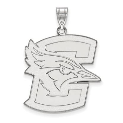 Picture of Creighton University Blue Jays 10k White Gold Extra Large Pendant