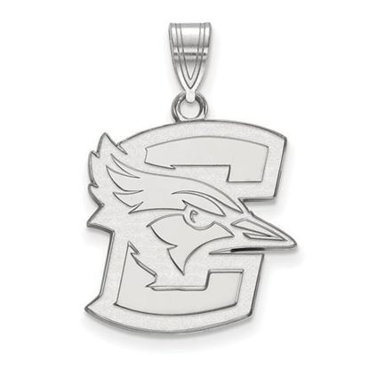 Picture of Creighton University Blue Jays 10k White Gold Large Pendant