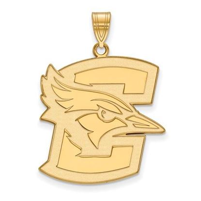 Picture of Creighton University Blue Jays Sterling Silver Gold Plated Extra Large Pendant