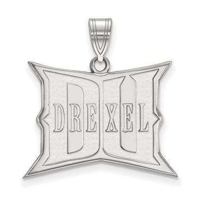 Picture of Drexel University Dragons 10k White Gold Large Pendant