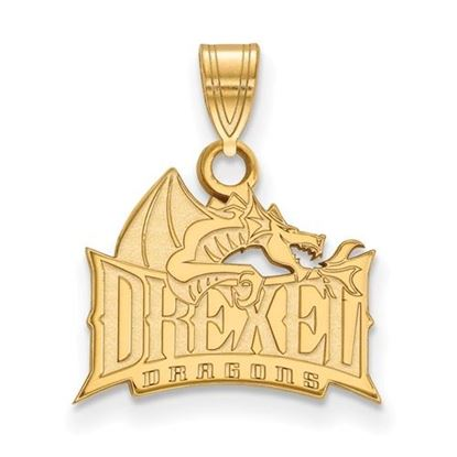 Picture of Drexel University Dragons 10k Yellow Gold Small Pendant