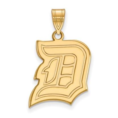Picture of Duquesne University Dukes 10k Yellow Gold Large Pendant