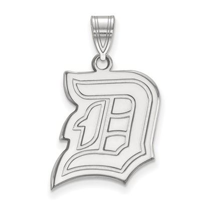 Picture of Duquesne University Dukes 14k White Gold Large Pendant