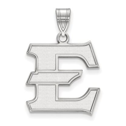 Picture of East Tennessee State University Buccaneers 10k White Gold Large Pendant