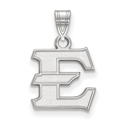 Picture of East Tennessee State University Buccaneers 14k White Gold Small Pendant