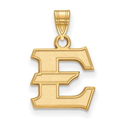 Picture of East Tennessee State University Buccaneers 14k Yellow Gold Small Pendant
