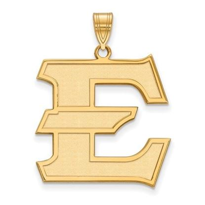 Picture of East Tennessee State University Buccaneers Sterling Silver Gold Plated Extra Large Pendant