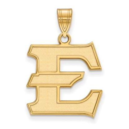 Picture of East Tennessee State University Buccaneers Sterling Silver Gold Plated Large Pendant