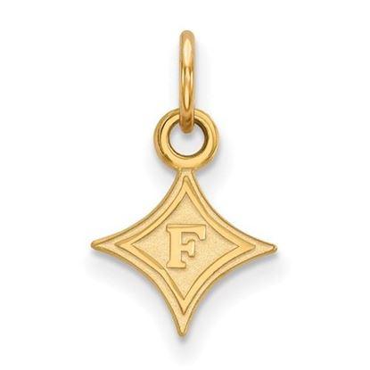 Picture of Furman University Paladins 10k Yellow Gold Extra Small Pendant