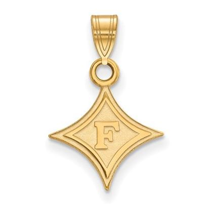 Picture of Furman University Paladins Sterling Silver Gold Plated Small Pendant