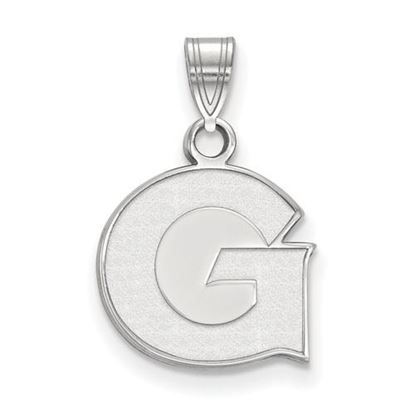 Picture of Georgetown University Hoyas 14k White Gold Small Pendant