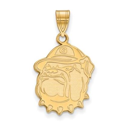 Picture of Georgetown University Hoyas 14k Yellow Gold Large Pendant