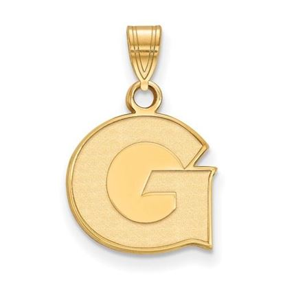 Picture of Georgetown University Hoyas 14k Yellow Gold Small Pendant