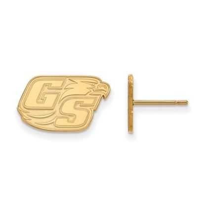 Picture of Georgia Southern University Eagles Sterling Silver Gold Plated Small Post Earrings